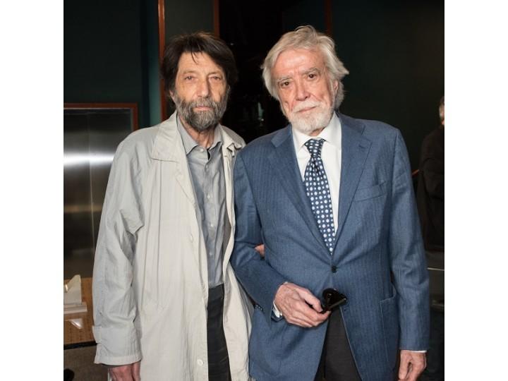 Giuseppe di Giacomo con Massimo Cacciari